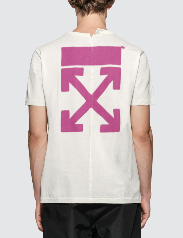 Off-White World Hand Spliced S/S T-Shirt