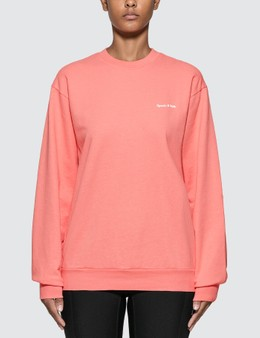 Sporty & Rich Fun Logo French Terry Sweatshirt