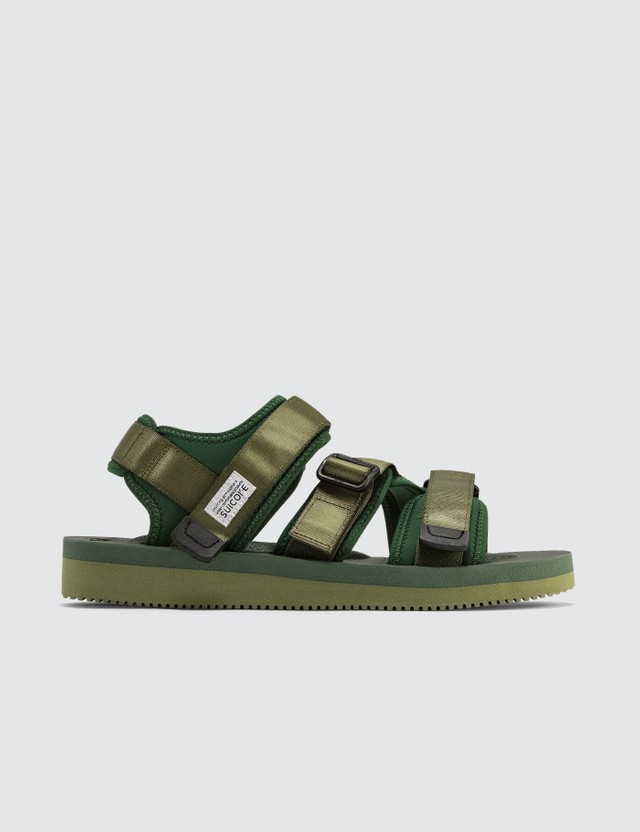 Suicoke Kisee-v Sandals Forest Green Men