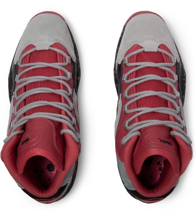 Reebok STASH x Reebok Carbon/Red/Black V61040 Question Mid Shoes