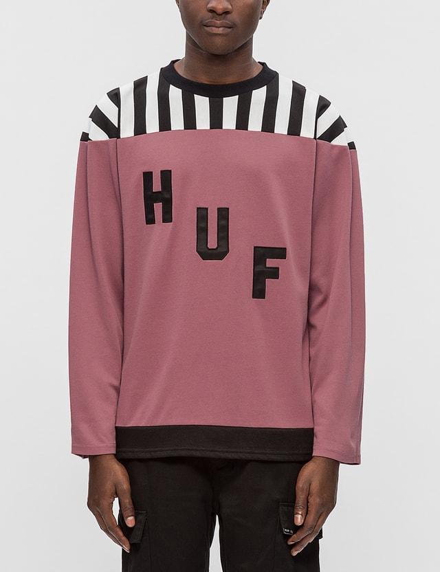 Huf Aggro Football L/S T-Shirt