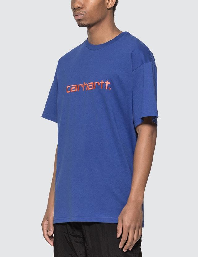 Carhartt Work In Progress Carhartt Embroidery T-shirt