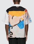 Marni The Kiss Print Cotton Poplin S/S Shirt