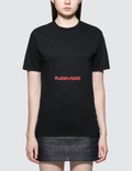 Places + Faces Belly Red Logo T-shirt 사진