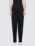 Maison Margiela Pleated Stretch-Canvas Pants Picture