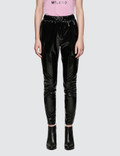 MSGM Stretch Patent Leather Pants Picture