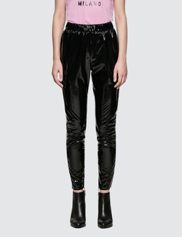 MSGM Stretch Patent Leather Pants