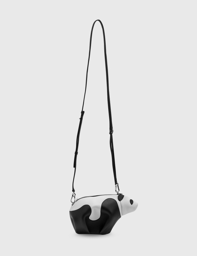 Loewe Mini Panda Bag Black/white Women