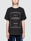 MM6 Maison Margiela Under Construction Short Sleeve T-Shirt Picture