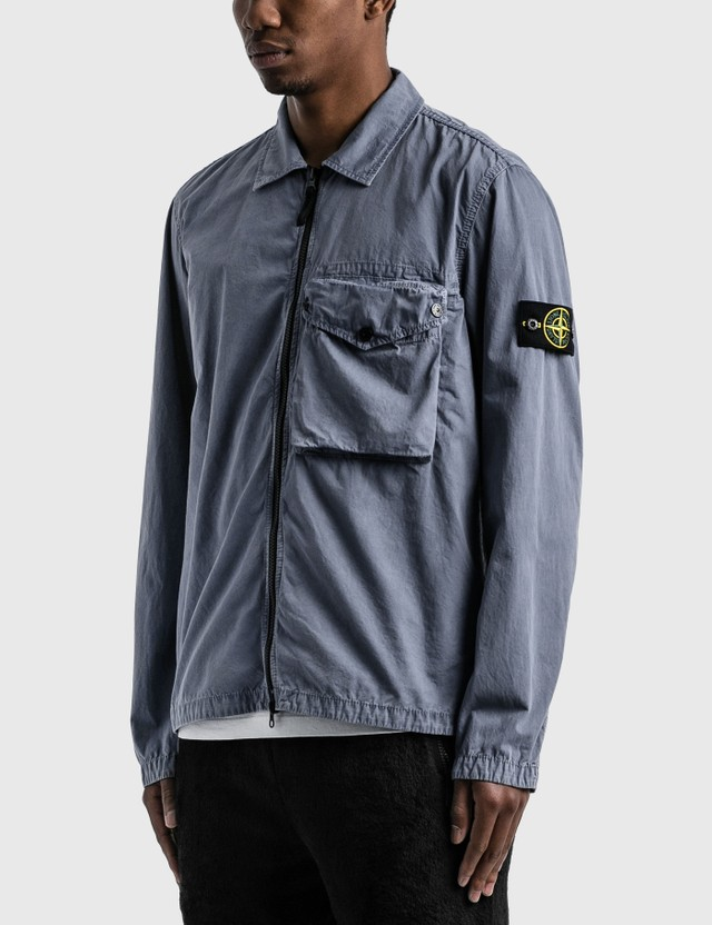 Stone Island Zip Pocket Overshirt