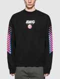 Alexander Wang AWG Faded Black Sweatshirt Picture