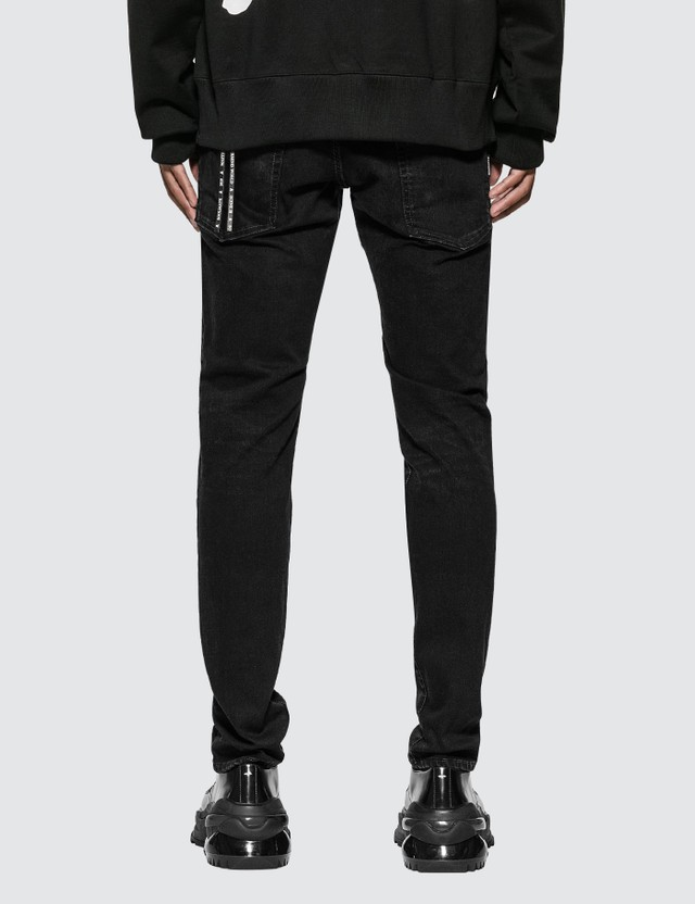 Mastermind World Faded Skull Tapered Jeans