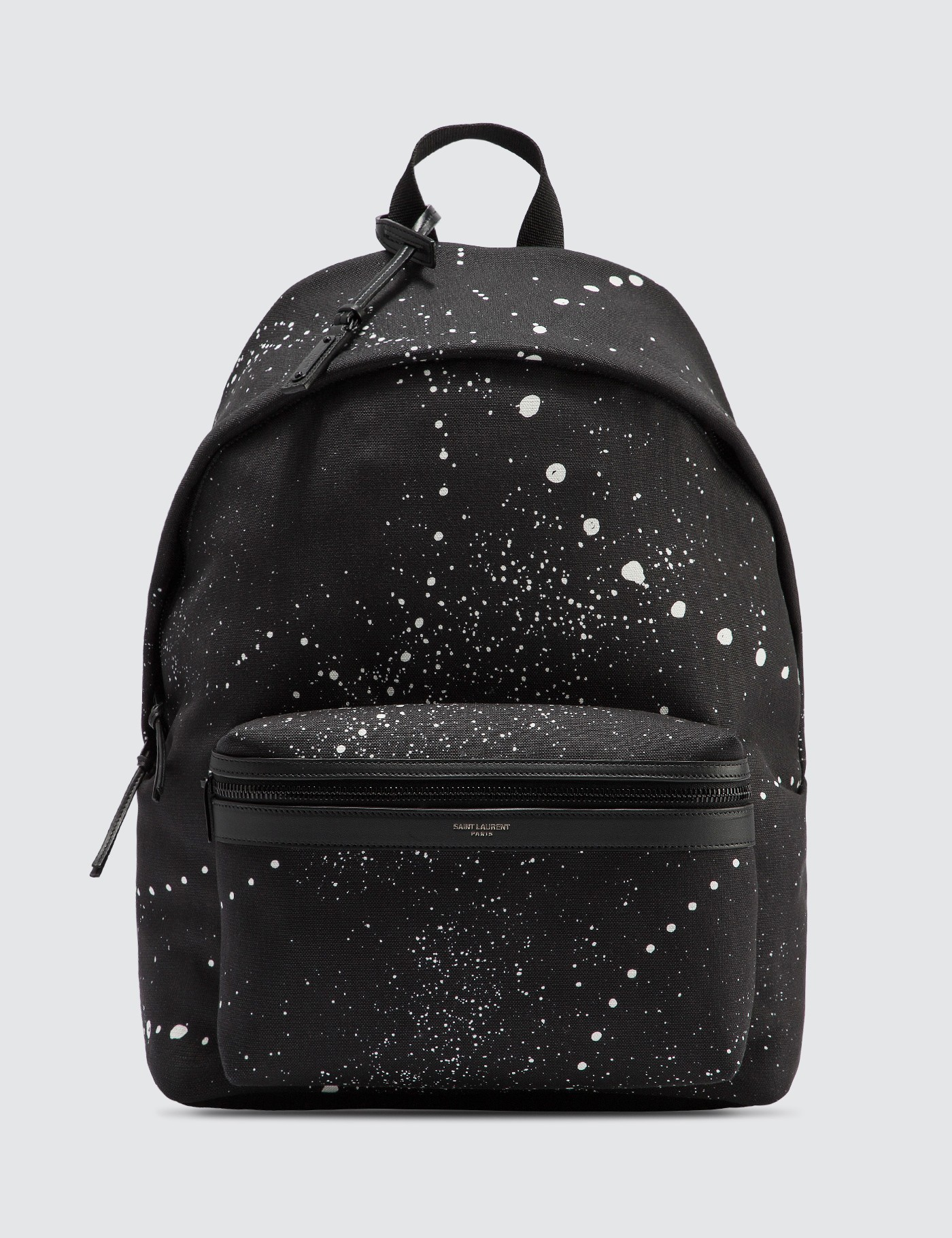 City Backpack With Galaxy-Print Canvas