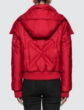 Off-White Embroidered Arrow Down Jacket 사진