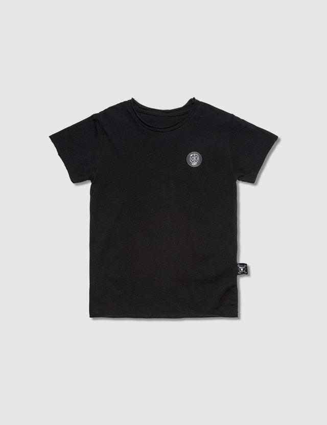 NUNUNU Solid S/S T-Shirt Black Kids