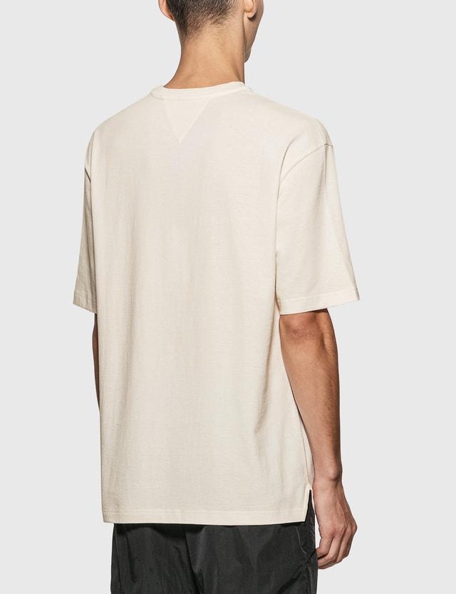 Bottega Veneta 선라이즈 코튼 티셔츠 9068-chalk Men