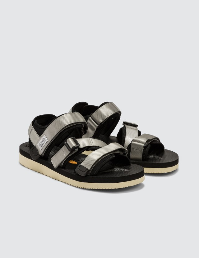 Suicoke Kisee-V Sandals Gray Men