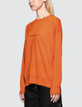 MM6 Maison Margiela Seam Detail Wool Knit Top