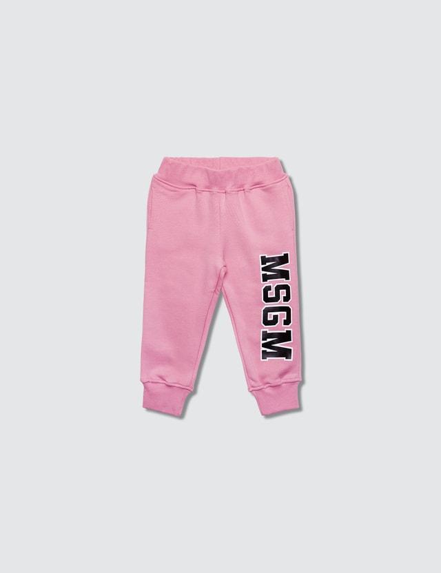 MSGM Pantaloni Felpa Baby Girl