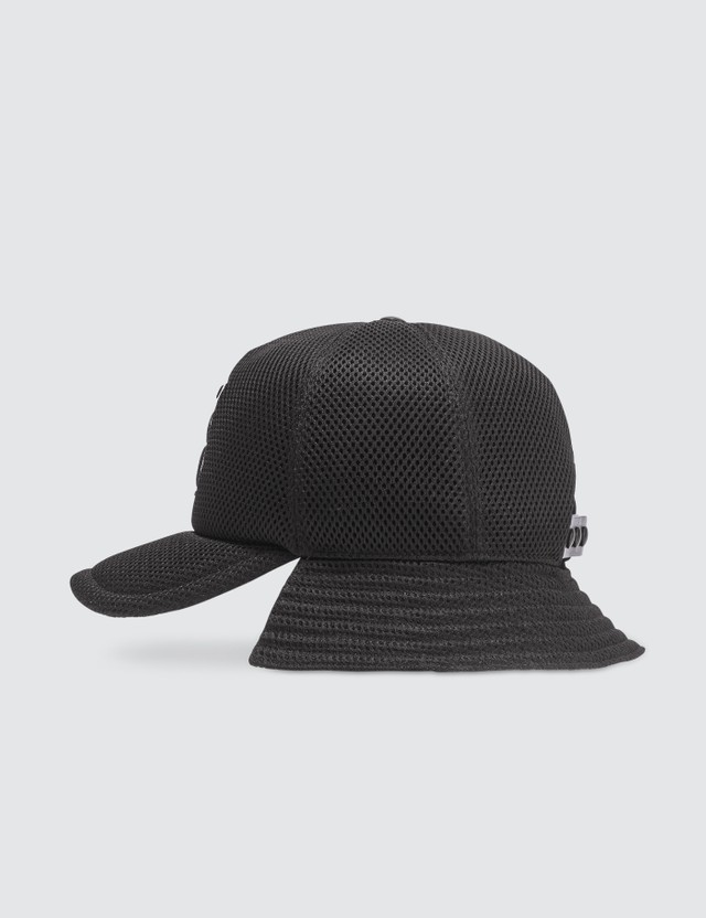 Burberry Monogram Motif Reconstructed Baseball Cap Black Men