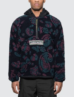 Aries Paisley Half Zip Fleece