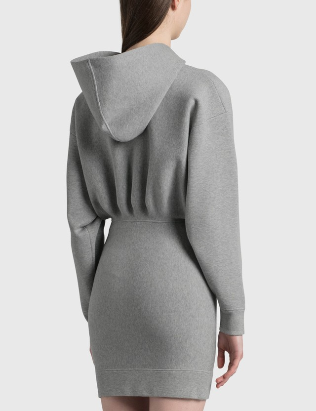 Alexander Wang.T Tailored Knit Hoodie Dress