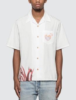 Human Made Duck Aloha Shirt Picutre