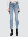 "Levi's ""Blue Steam"" 711 Asia Skinny Altered Jeans Picture"