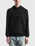 Saint Laurent Saint Laurent Logo Hoodie With Eyelets 사진