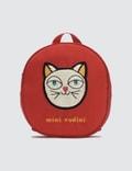 Mini Rodini Cat Backpack Picture