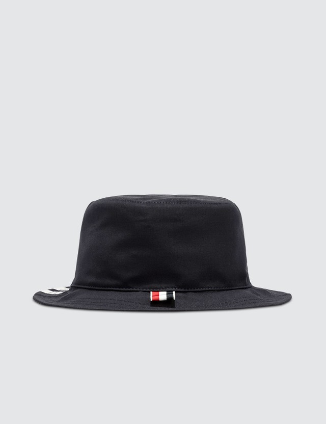 Thom Browne Classic 4-Bar Bucket Hat Navy Men