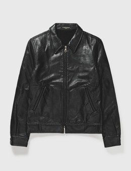 Mastermind Japan Mastermind Japan Black Leather Jacket