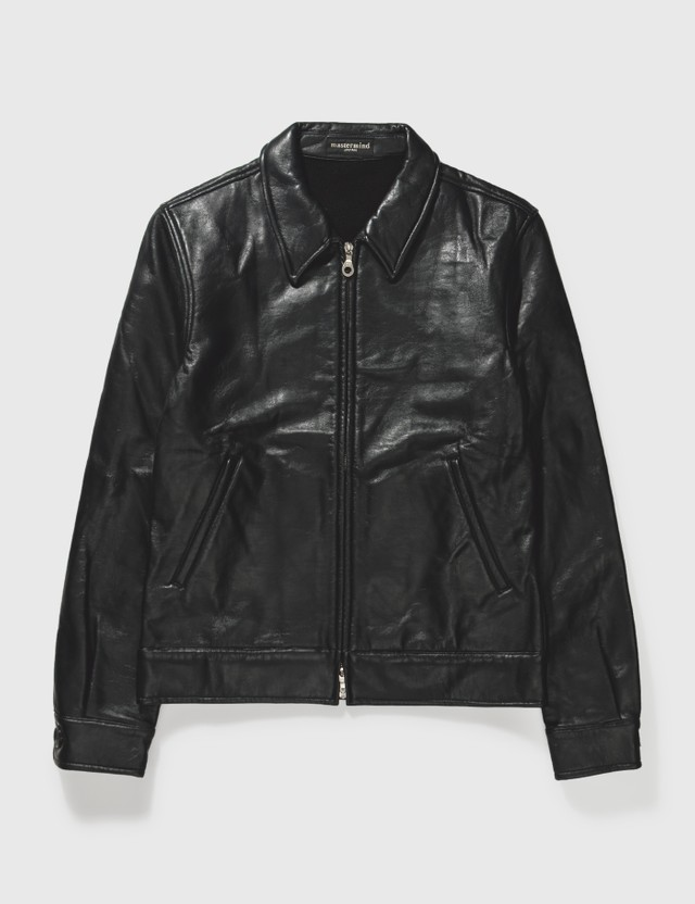 Mastermind Japan Mastermind Japan Black Leather Jacket Black Archives