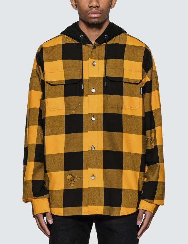 Check Plaid Shirt Jacket