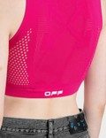 Off-White Active Seamless Crop Top