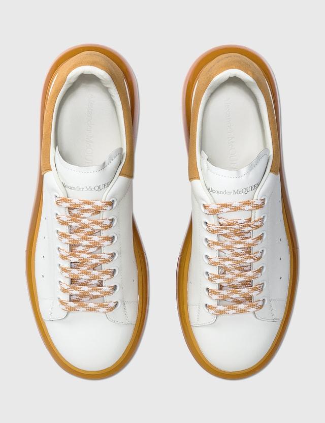 Alexander McQueen Oversized Sneaker White/mustard Men