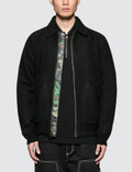 Stussy Boiled Wool Reversible Bomber Jacket Picture