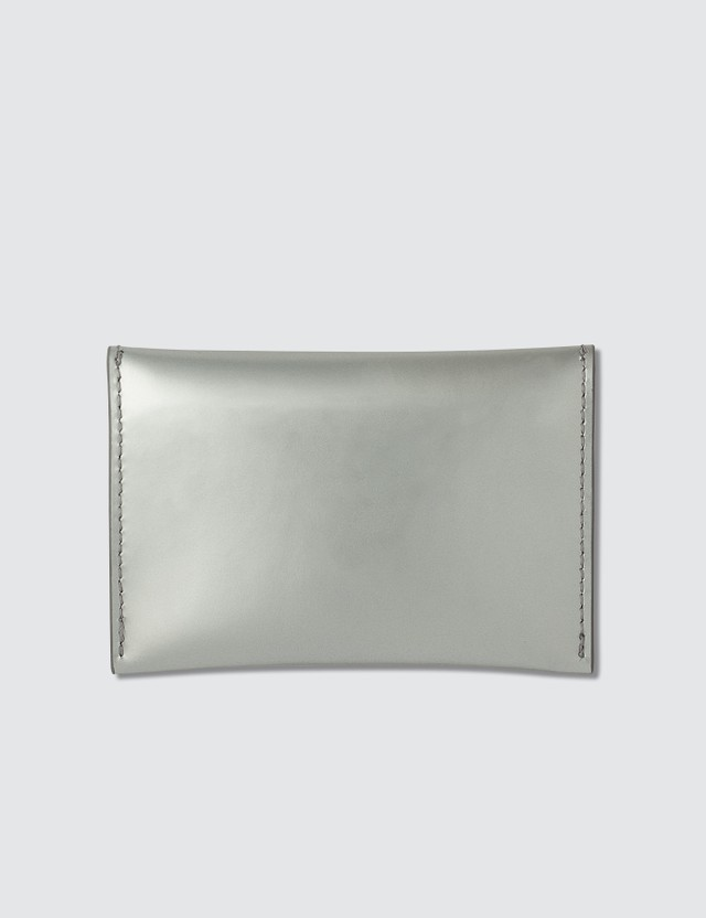 Alexander McQueen Patent Envelope Card Holder