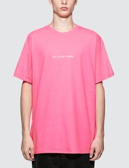 Fuck Art, Make Tees No Social Media T-Shirt