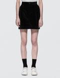 Fiorucci Viki Velvet Mini Skirt Picture