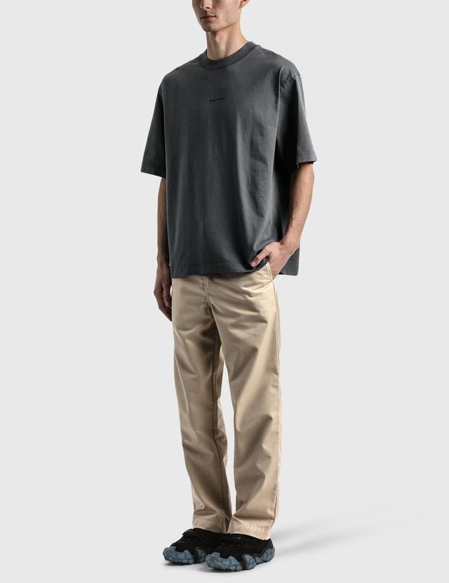 Acne Studios Extorr Stamp T-shirt Grey Men