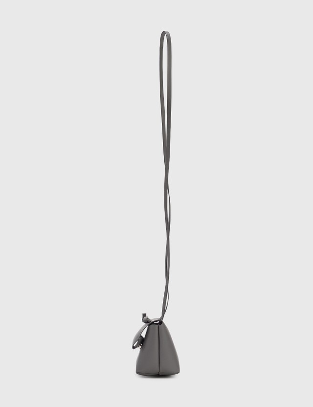 Acne Studios Knotted Strap Crossbody Grey Women