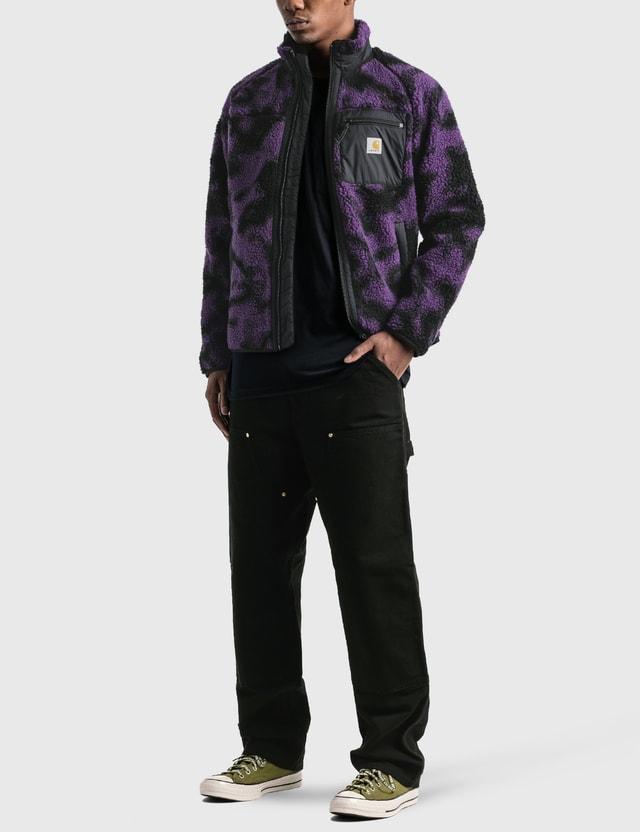 Carhartt Work In Progress Prentis Liner Camo Blur, Purple Men