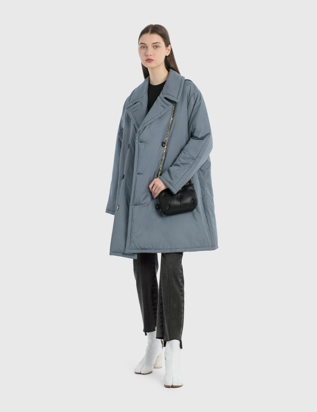 Maison Margiela Padded Coat Dusty Blue Women