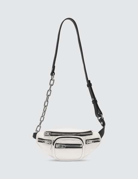 알렉산더 왕 아티카 소프트 퍼니 크로스바디백 미니 - 화이트 Alexander Wang Attica Soft Mini Fanny Crossbody Bag