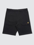 Carhartt Work In Progress American Script Sweat Shorts
