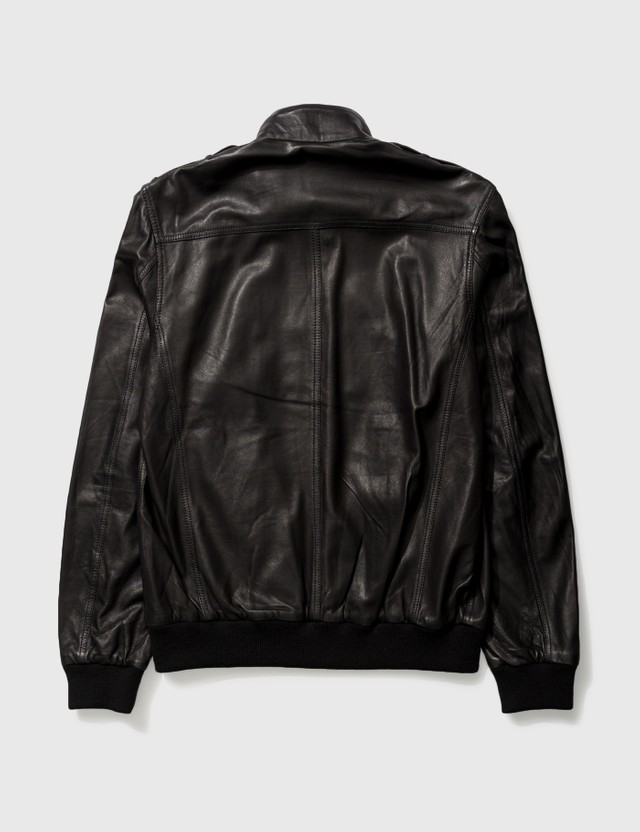 Marc Jacobs Marc By Marc Jacobs Leather Jacket Black Archives