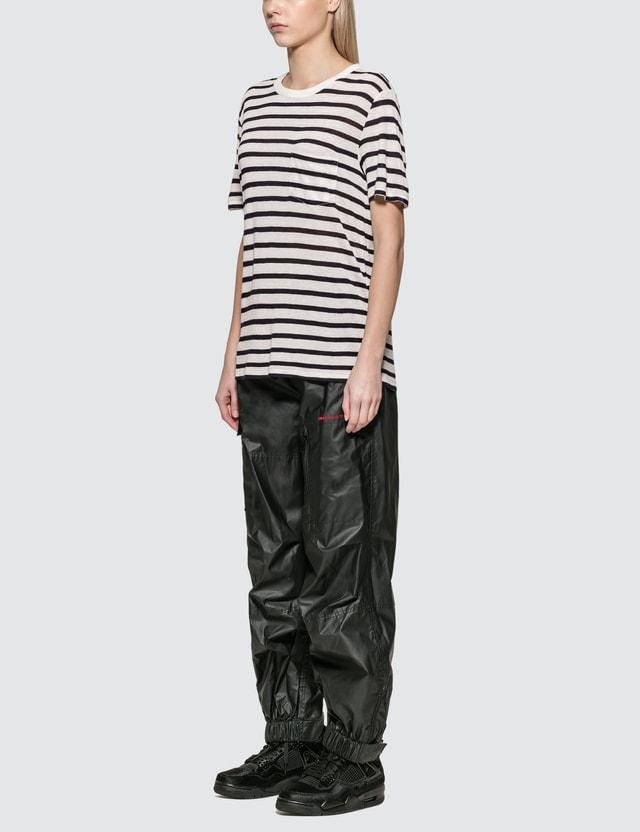 Alexander Wang.T Classic Striped Slub Jersey T-shirt
