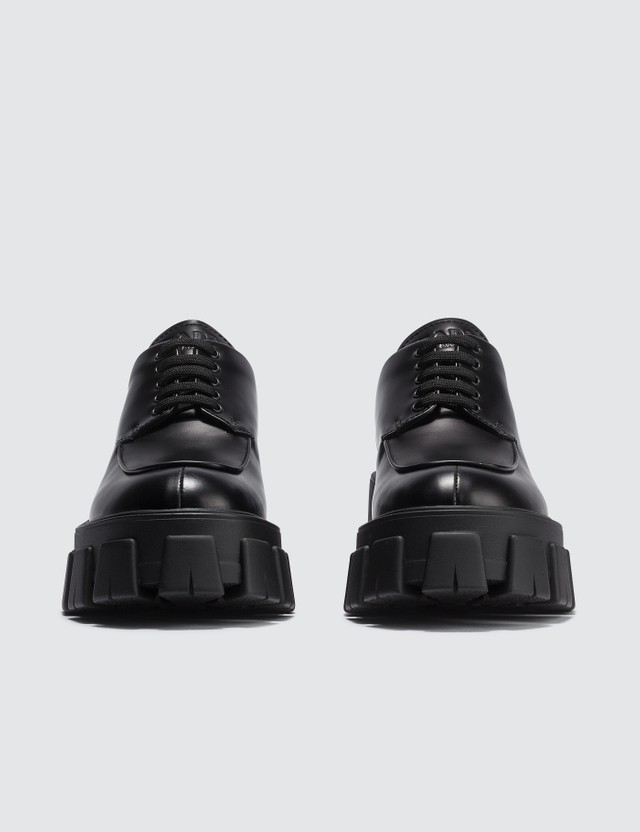 Prada Chunky Lace Up Shoes