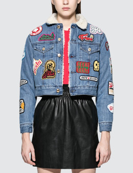 GCDS Patch Denim Jacket